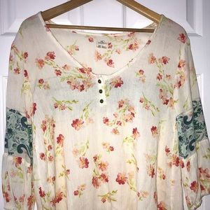 O'neill Floral Blouse